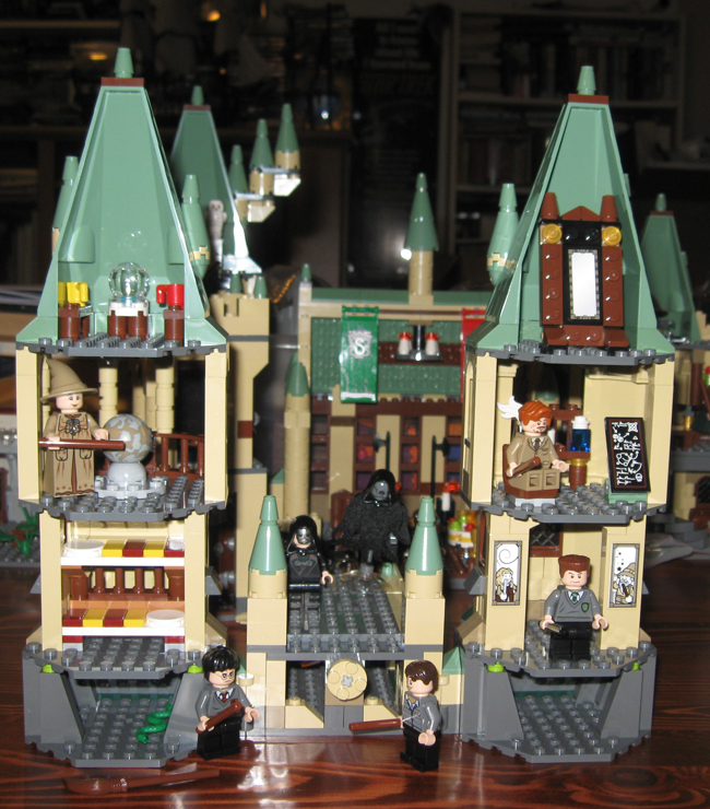 187 yet another hogwarts castle pick the bricks